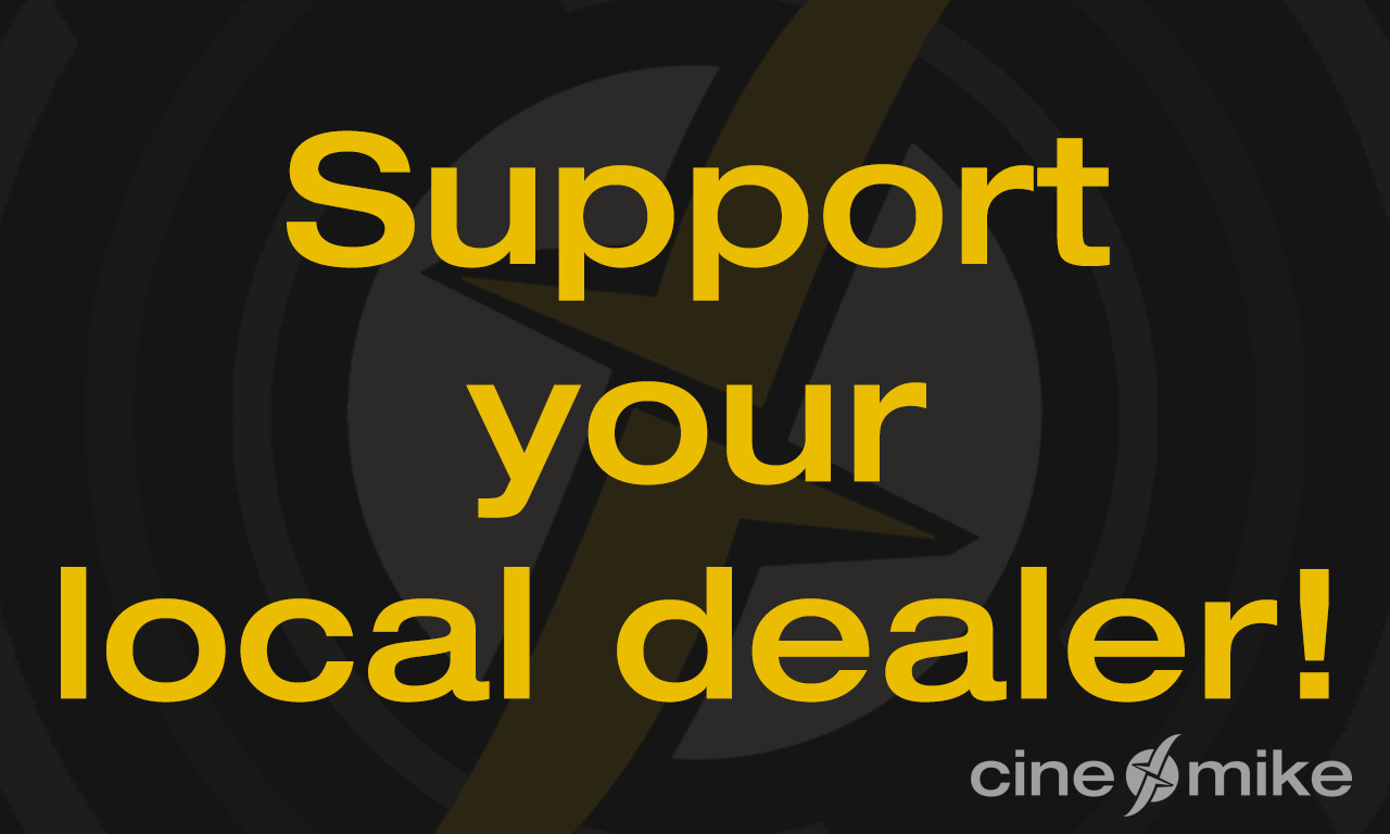 Corona-Maßnahmen / Support your local dealer!